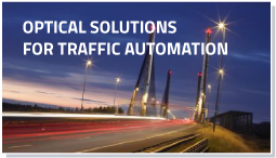 Optical solutions for Traffic Automation