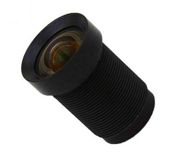 AC12435MM - MOQ 100pcs S-Mount lens, 4.35mm, M12, 1/2.3'', F2.0