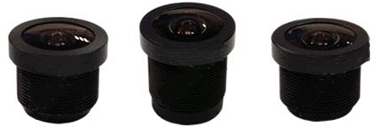 ACH01825BM - MOQ 100pcs S-Mount lens, 1.8mm, M12, 1/4'' , F2.5, 1MP