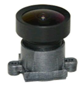 ACHIR02525B5M - MOQ 100pcs S-Mount lens, 2.5mm, M12, 1/3'' , F2.5, 5MP