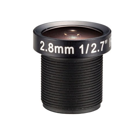 ACM127B02820IRMM - MOQ 100pcs S-Mount lens, 2.8mm, M12, 1/2.7', F2.0