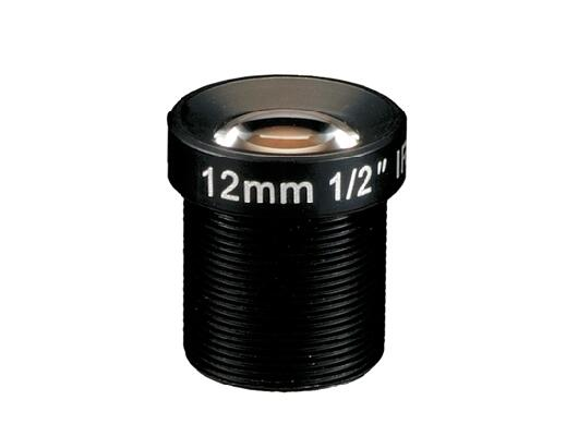ACM12B1216IRMM - MOQ 100pcs S-Mount lens, 12mm, M12, 1/2'', F1.6, MP