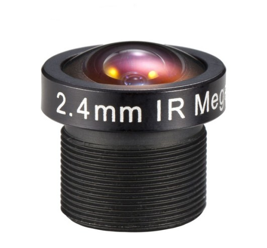 ACM13B02420IRMM - MOQ 100pcs S-Mount lens, 2.4mm, M12, 1/4', F2.0