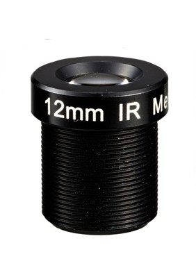 ACM13B1218IRR2MM - MOQ 100pcs S-Mount lens, 12mm, M12, 1/3'', F1.8, MP