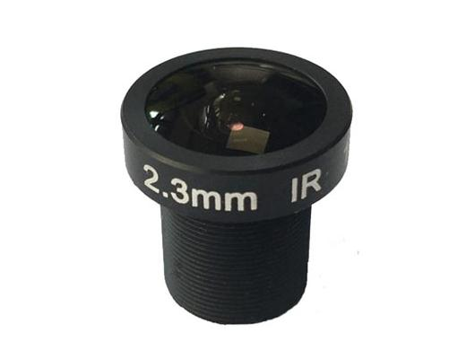 ACMTV2322IR35MP - MOQ 100pcs S-Mount lens, 2.3mm, M12, 1/3'' , F2.2, 3.5MP