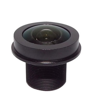 ACTM1216IR5MPFFIL - MOQ 100pcs S-Mount lens, 1.6mm, M12, 1/1.8'', F2.0, 5MP