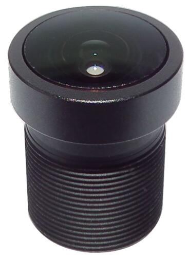 ACTM1225IR4MPFIL - MOQ 100pcs S-Mount lens, 2.5mm, M12, 1/3'', F1.8, 4MP
