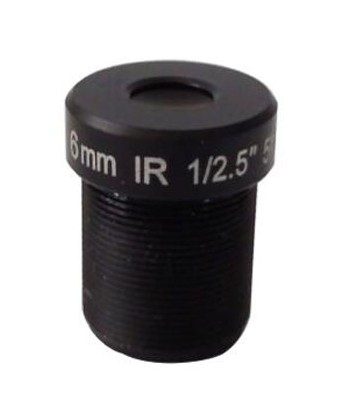 ACTM128IR3MPC - MOQ 100pcs S-Mount lens, 8.0mm, M12, 1/2.7'', F2.4, 3MP