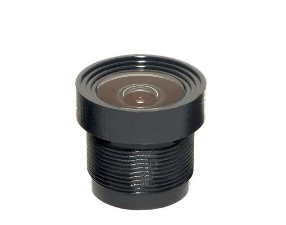 ACY1535PA1 - MOQ 100pcs S-Mount lens, 2.3mm, M12, 1/4'', F2.4, 1.3MP