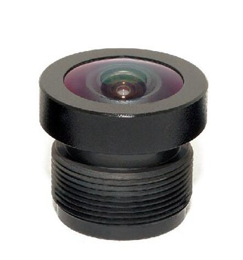 ACY1559C1 - MOQ 100pcs S-Mount lens, 2.25mm, M12, 1/3