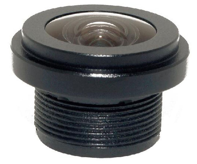 ACY5554PA1 - MOQ 100pcs S-Mount lens, 1.3mm, M12, 1/4