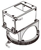 BK-HPD2-200-LFV - Coaxial Light Joint Bracket
