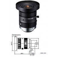 FL-HC0514-2M - HIGH-RESOLUTION, FOR STANDARD, IP AND MEGAPIXEL CAMERAS 1/2