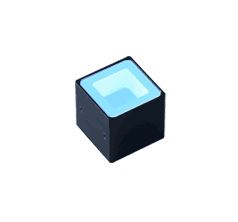 FPQ2-32BL-FL - Low-Angle Square Light, Blue, Flying Leads