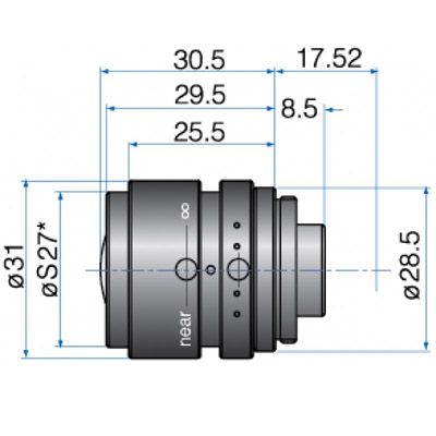 GM23514MCN - COMPACT FIX FOCAL LENGTH LENSES 1/2