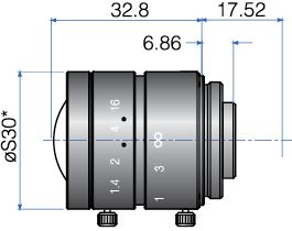 GMN36014MCN-1 - FIX FOCAL LENGTH LENSES 2/3