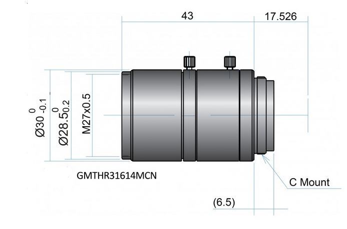 GMTHR31614MCN - FIX FOCAL 2/3