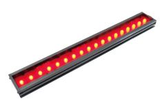 HLDL21200X45RDDFWM12 - High Output Bar Light, Red, M12 Connector