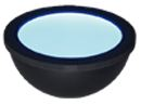 HPD2-250BL-FL - Dome Light, Blue, Flying Leads