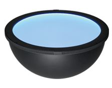 HPD2-400BL - Dome Light, Blue