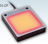 IBL-080080-63-DF - IP67 Flat Light (Back Light), Red