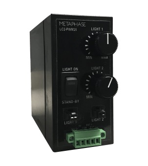 LC2-PWM20 - 12V, 100KHz PWM LED INTENSITY CONTROLLER, 20W/CHANNEL, 30W MAX TOTAL