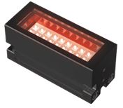 LDL-PF-52X18RD - Bar Light Red, 24V