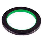 LDR-146GR2-LA1 - Low-Angle Ring Light, Green