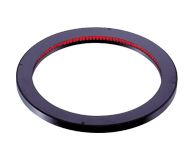 LDR-146RD2-LA1 - Low-Angle Ring Light, Red