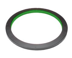 LDR-206GR2-LA1 - Low-Angle Ring Light, Green