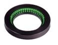 LDR-75GR2-LA1 - Low-Angle Ring Light, Green
