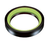 LDR2-132GR2-LA - Low-Angle Ring Light, Green