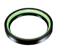 LDR2-170GR2-LA - Low-Angle Ring Light, Green