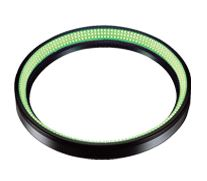 LDR2-208GR2-LA - Low-Angle Ring Light, Green