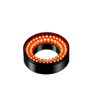LDR2-50RD2-WD-M12 - Ring Light, Red, M12 Connector
