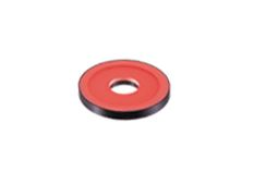 LFR-100RD2-K-M12 - Flat-Ring Light, Red, M12 Connector