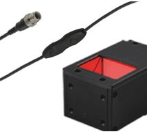 LFV3-40RD-IU(A) - Coaxial Light, Red, IU Series