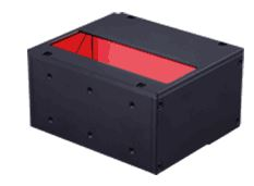 LFV3-50X100RD(A) - Coaxial Light, Red