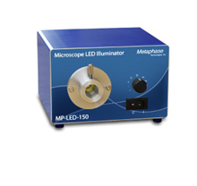 MP-LED-150-B - LED FIBER ILLUMINATOR Blue, 24VDC