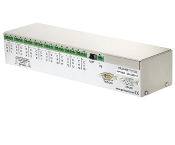 PP1620 - 16 channel controller, high resolution, Ethernet configuration