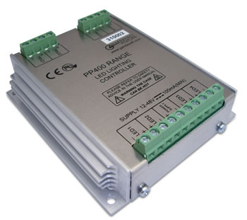 PP420F - PP420 4 channel controller, fast pulse, Ethernet configuration