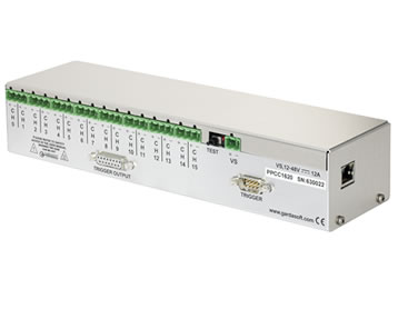 PPCC1661 - 16 channel controller, with CC function, Ethernet configuration