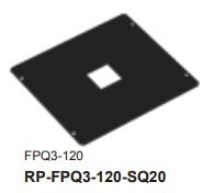 RF-FPQ3-120-SQ20-LOA - Reflection Plate for FPQ3