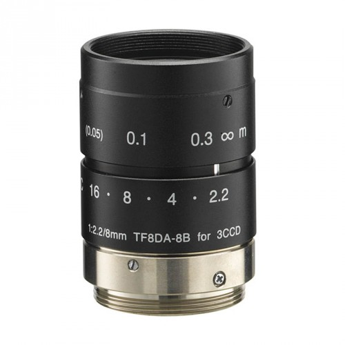 TF8DA-8B - Fixed focal length lens 1/3