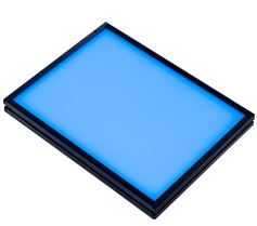 TH-160X120BL - Flat Light (Back Light), Blue