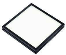 TH2-100X100SW-FL - Flat Light (Back Light) White, 24V, Flying Leads
