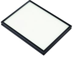 TH2-160X120SW - Flat Light (Back Light) White, 24V