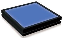 TH2-200X150BL - Flat Light (Back Light) Blue, 24V