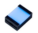 TH2-27X27BL-PM - Flat Light (Back Light) Blue, 24V