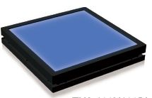 TH2-51X51BL - Flat Light (Back Light) Blue, 24V